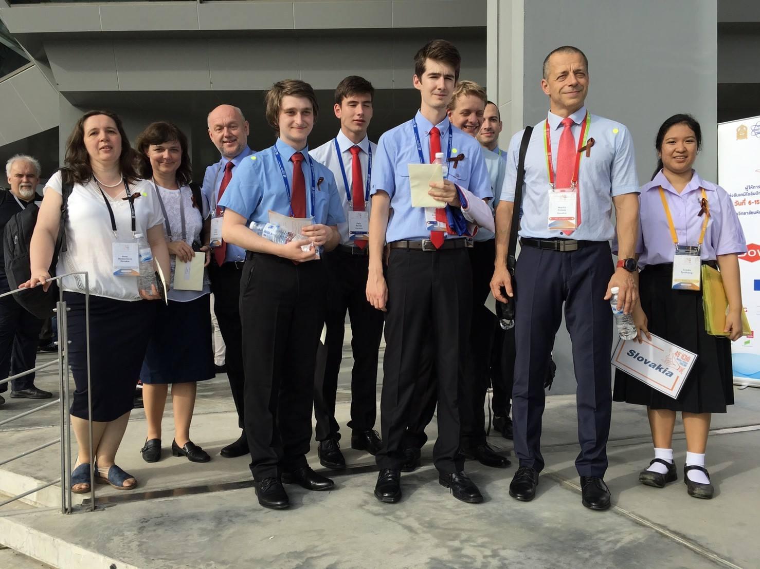 Slovenská delegácia v ďalekom Thajsku. Foto: Archív slovenskej delegácie ICHO.