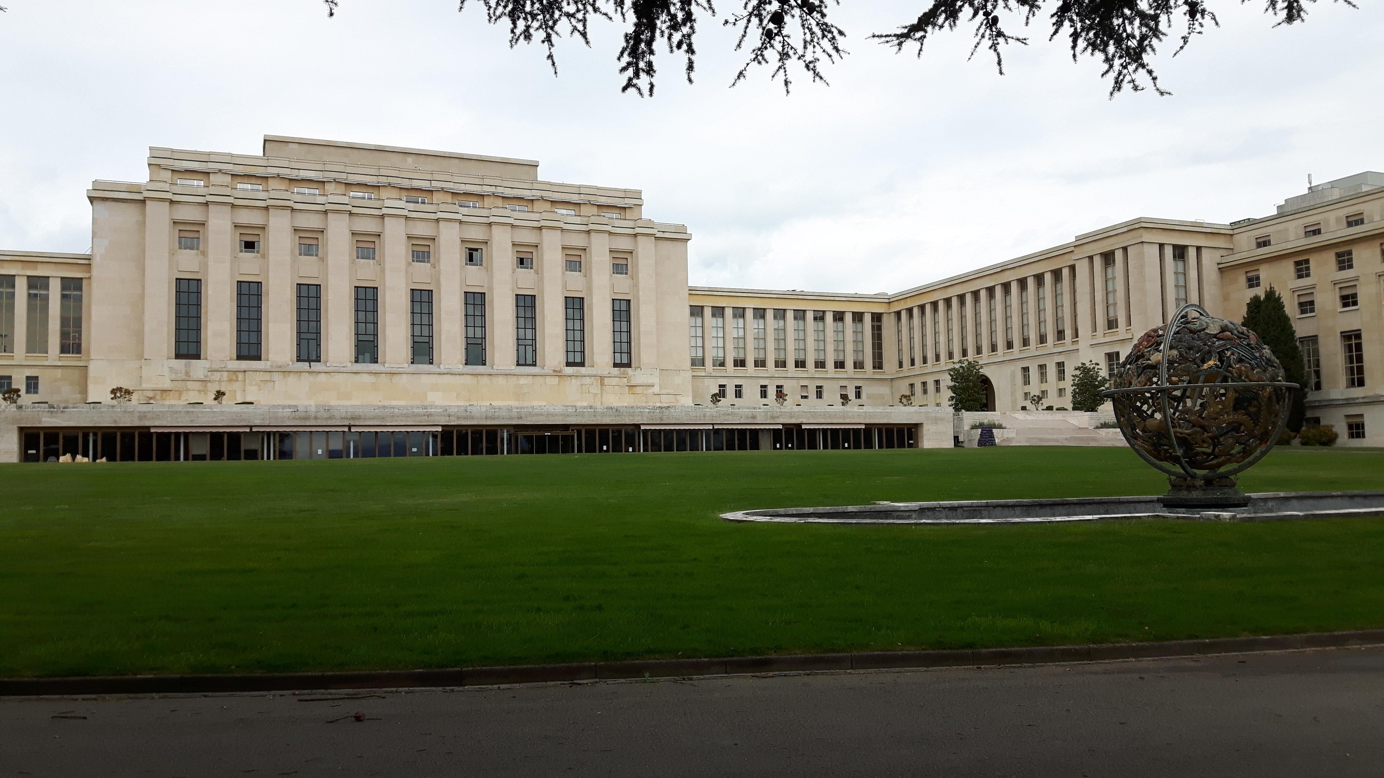 OSN v Ženeve privítala našu stredoškolskú elitu v oblasti ľudských práv