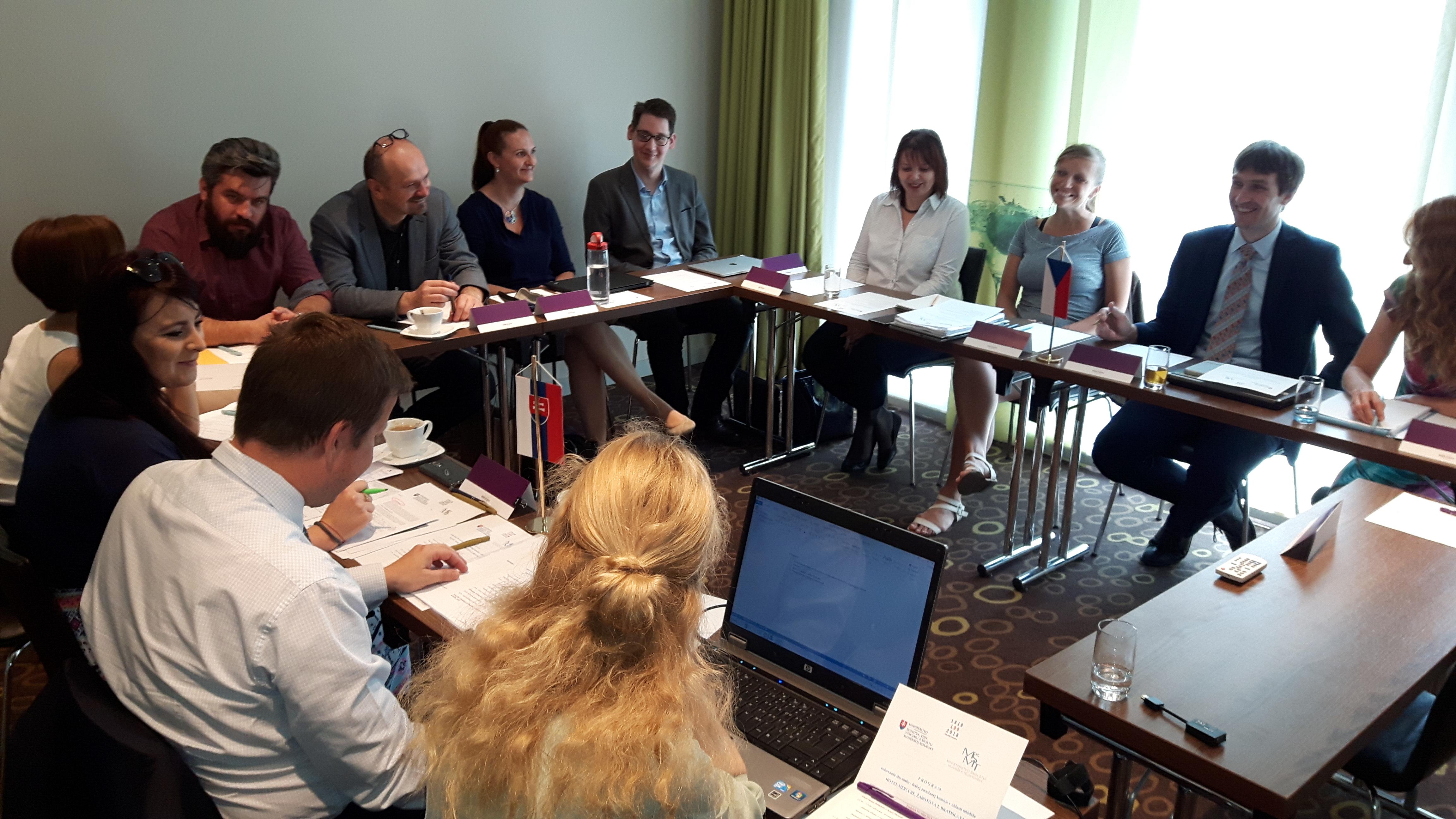 7. Zasadnutie slovensko-českej zmiešanej komisie v oblasti mládeže