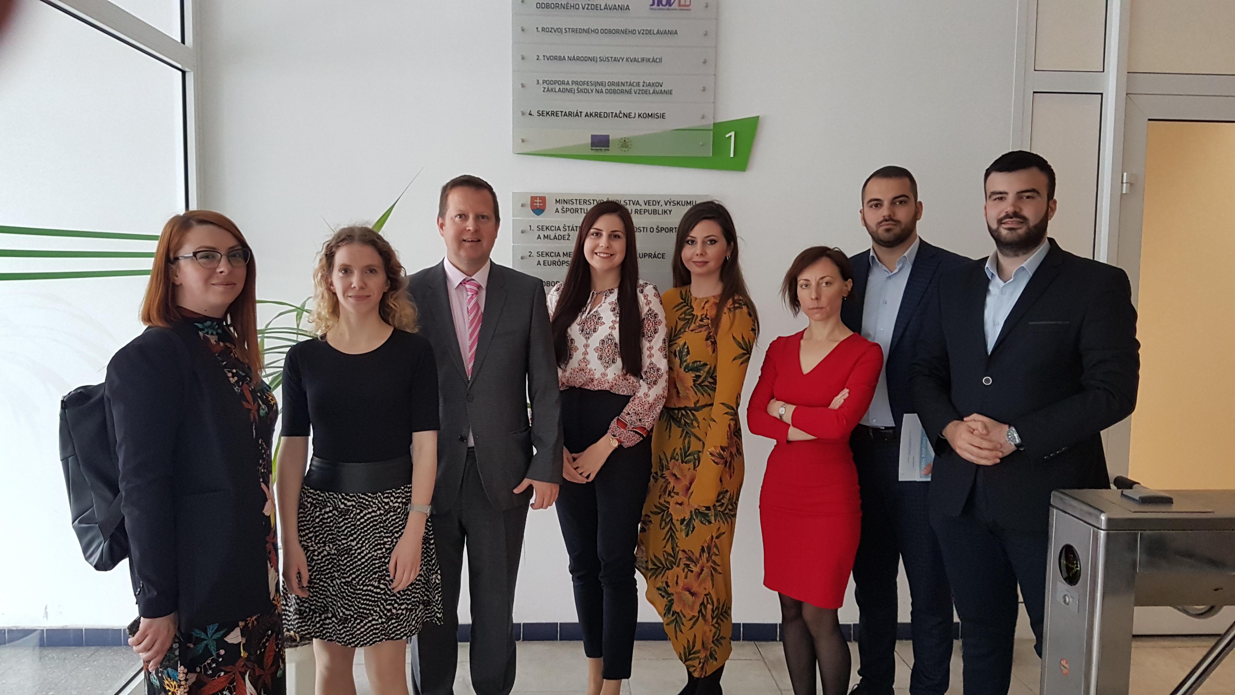 Delegácia z Bosny a Hercegoviny na návšteve v IUVENTE