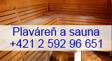 Plaváreň a sauna