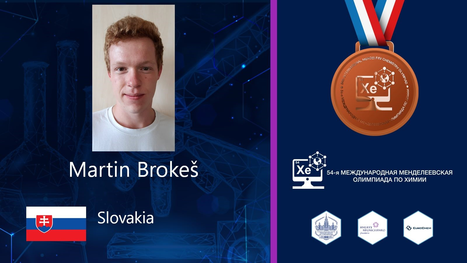 bronzova medaila brokes