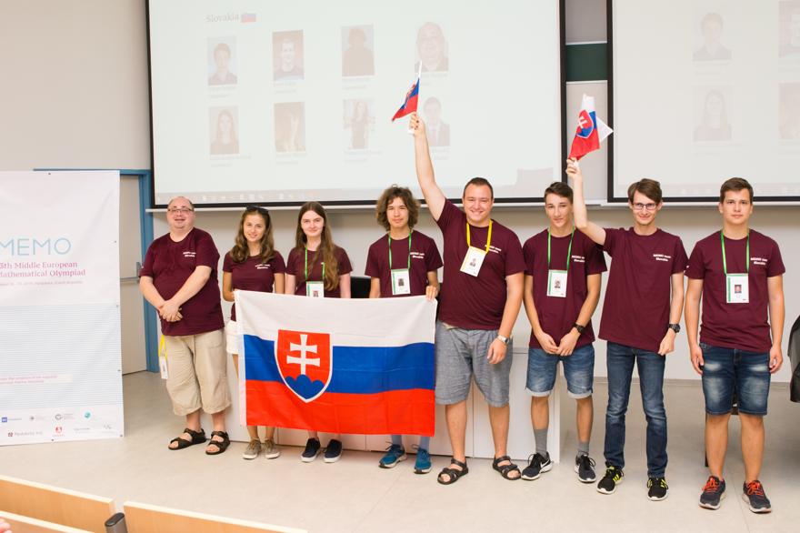 Slovensko zažiarilo na Stredoeurópskej matematickej olympiáde