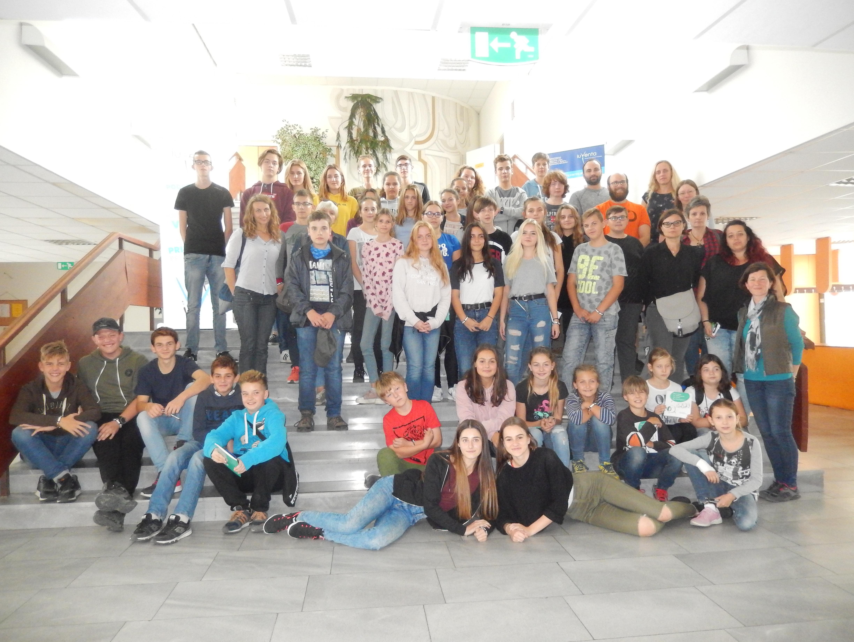 Účastníci projektu WATER/VODA v IUVENTE