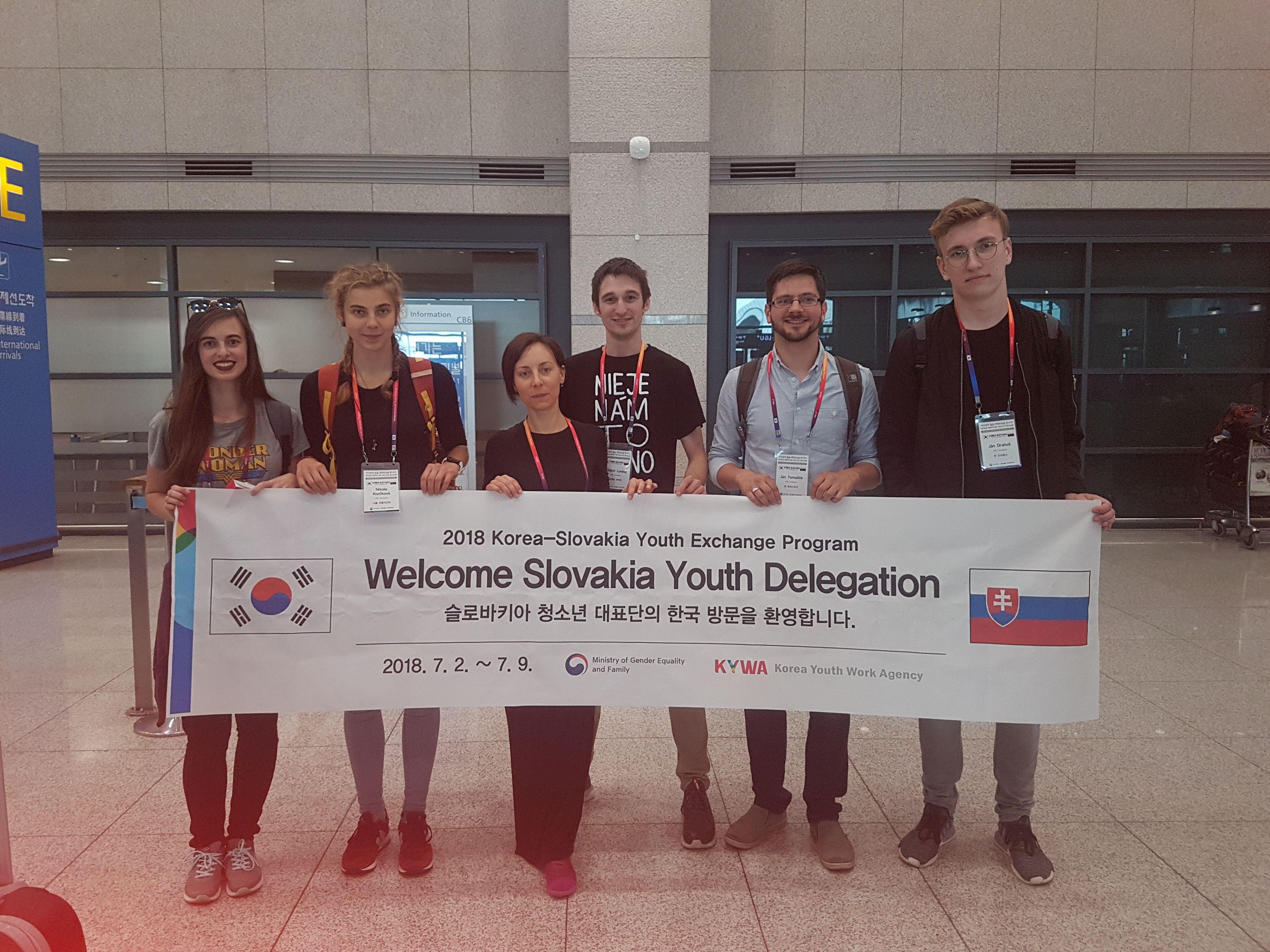 Študijná návšteva zástupcov zo Slovenska v Soule