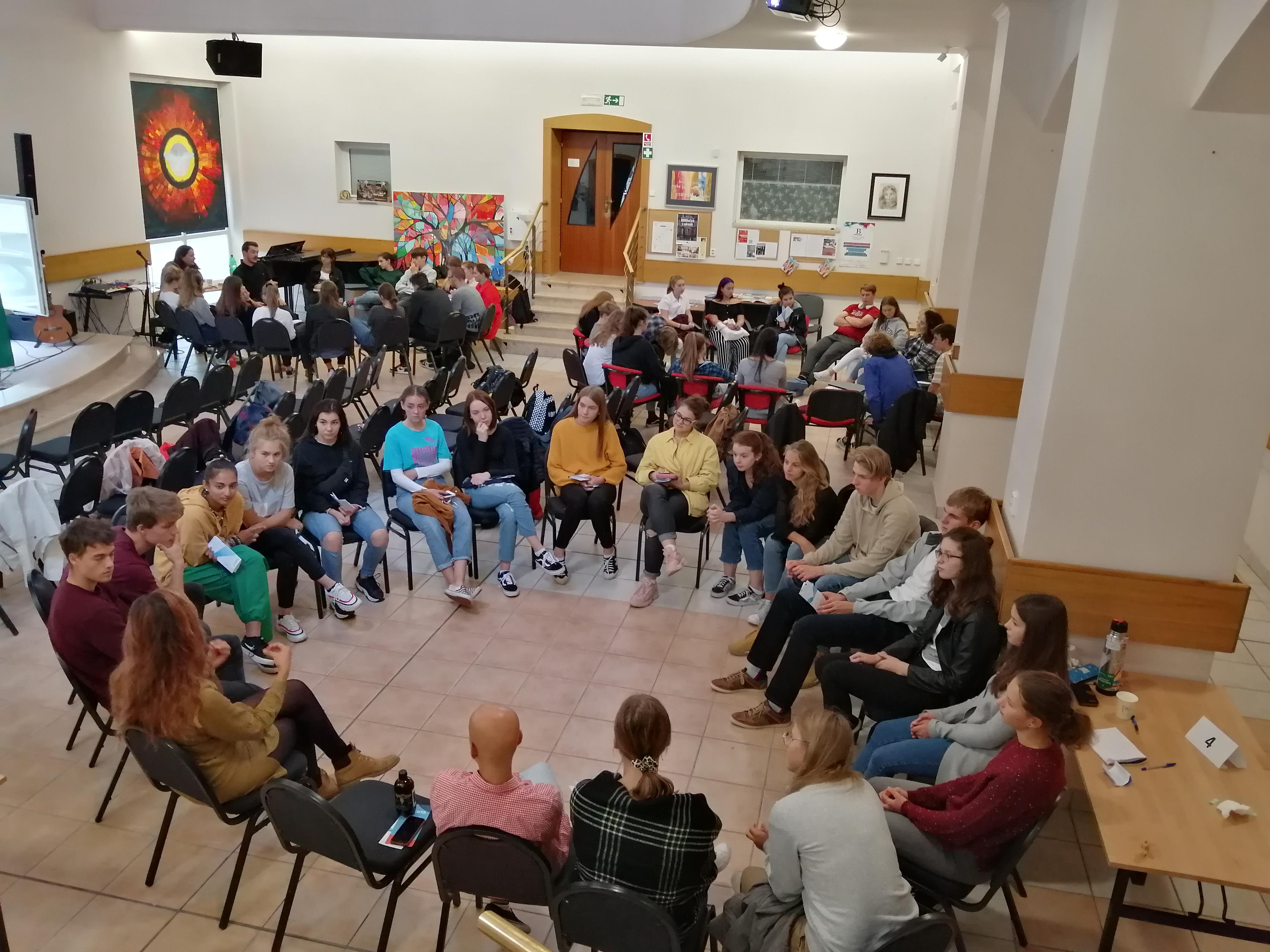 DOBROvoľníci v zahraničí odovzdávali informácie slovenským študentom
