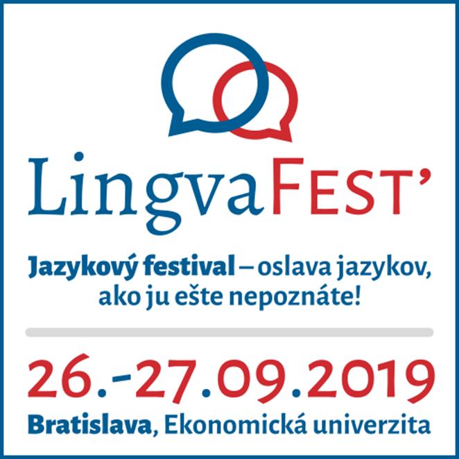 Bratislava v septembri opäť ožije jazykmi: LingvaFest' 2019