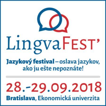 Bratislava v septembri ožije jazykmi: LingvaFest'2018