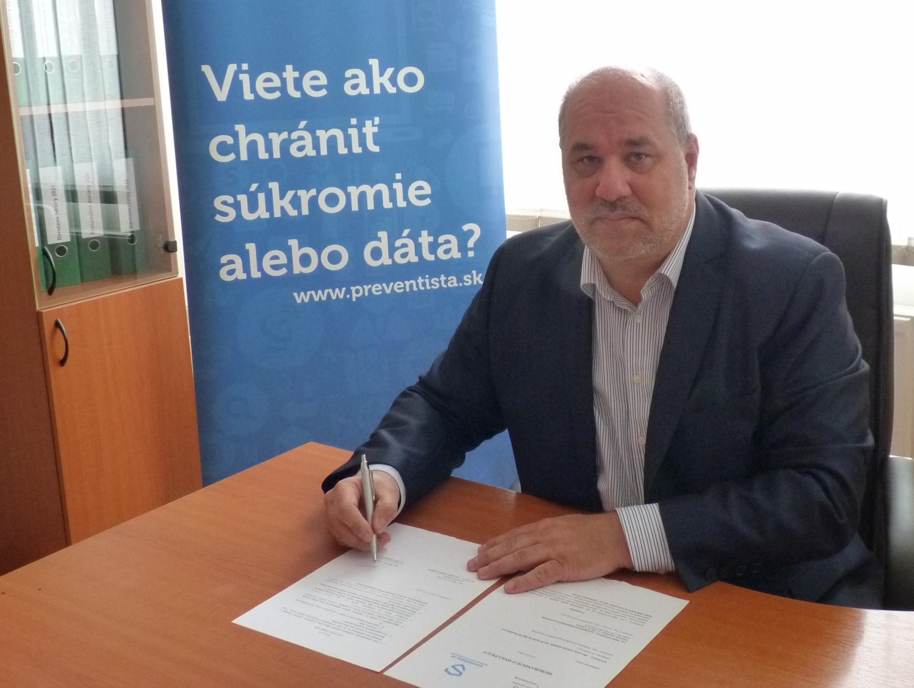 podpis memorandum oz preventista