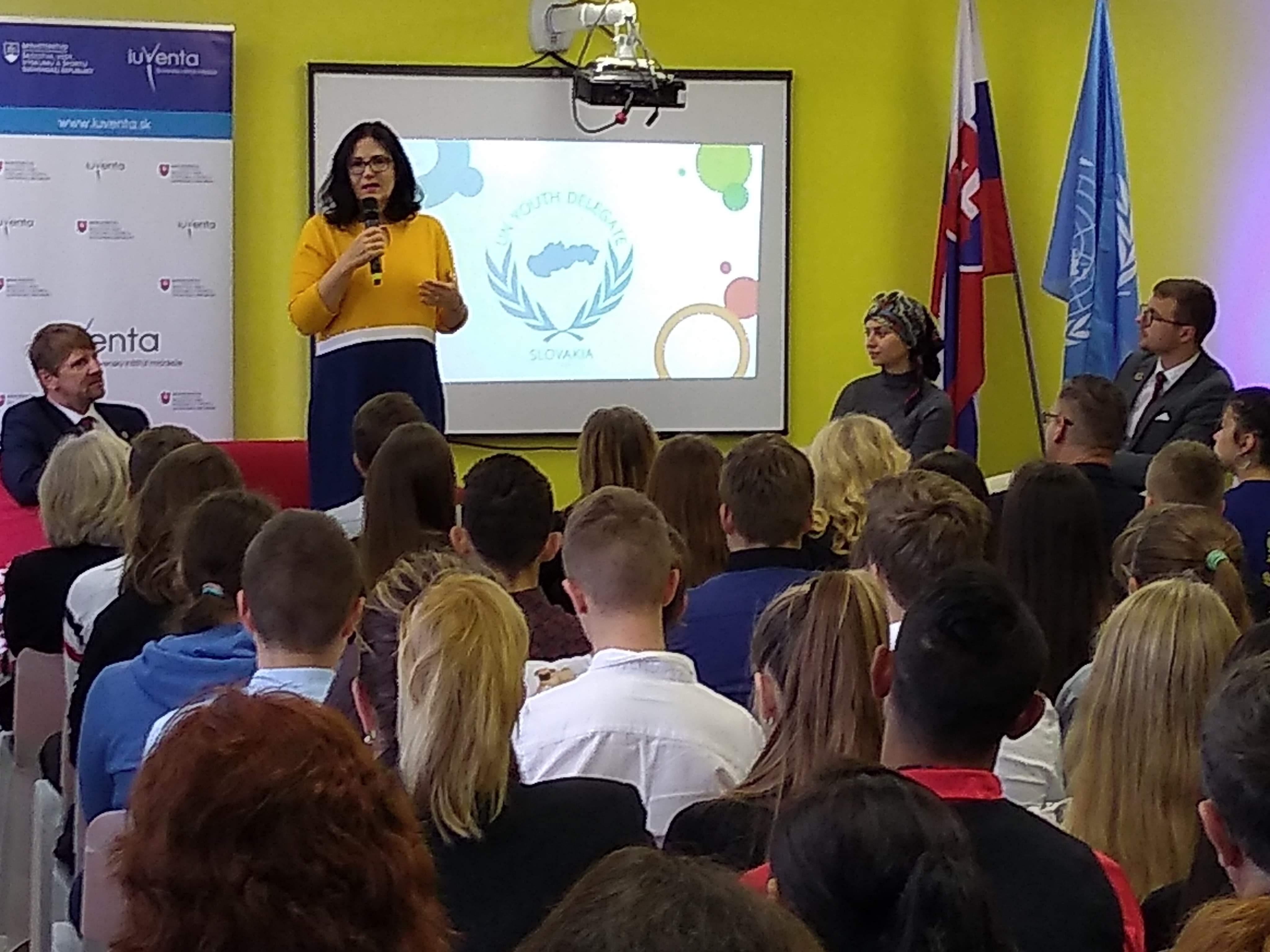 Diskusie ministerky školstva so študentmi na východnom Slovensku počas výjazdových rokovaní vlády SR