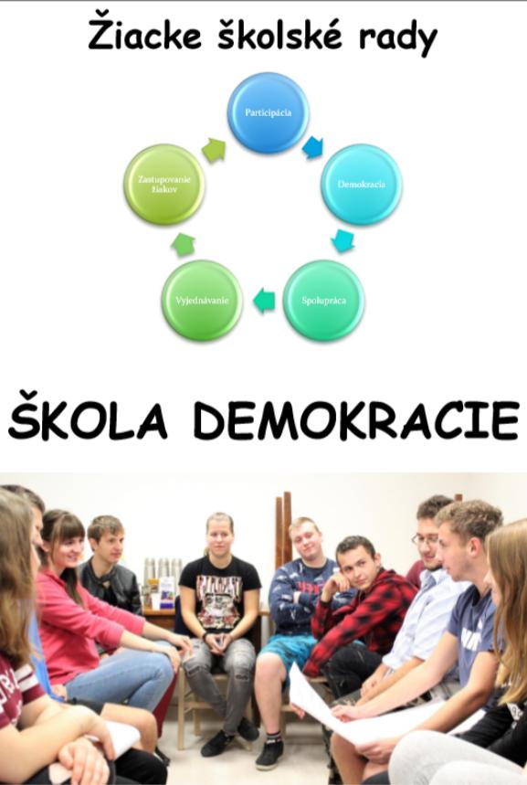Žiacke školské rady - Škola demokracie