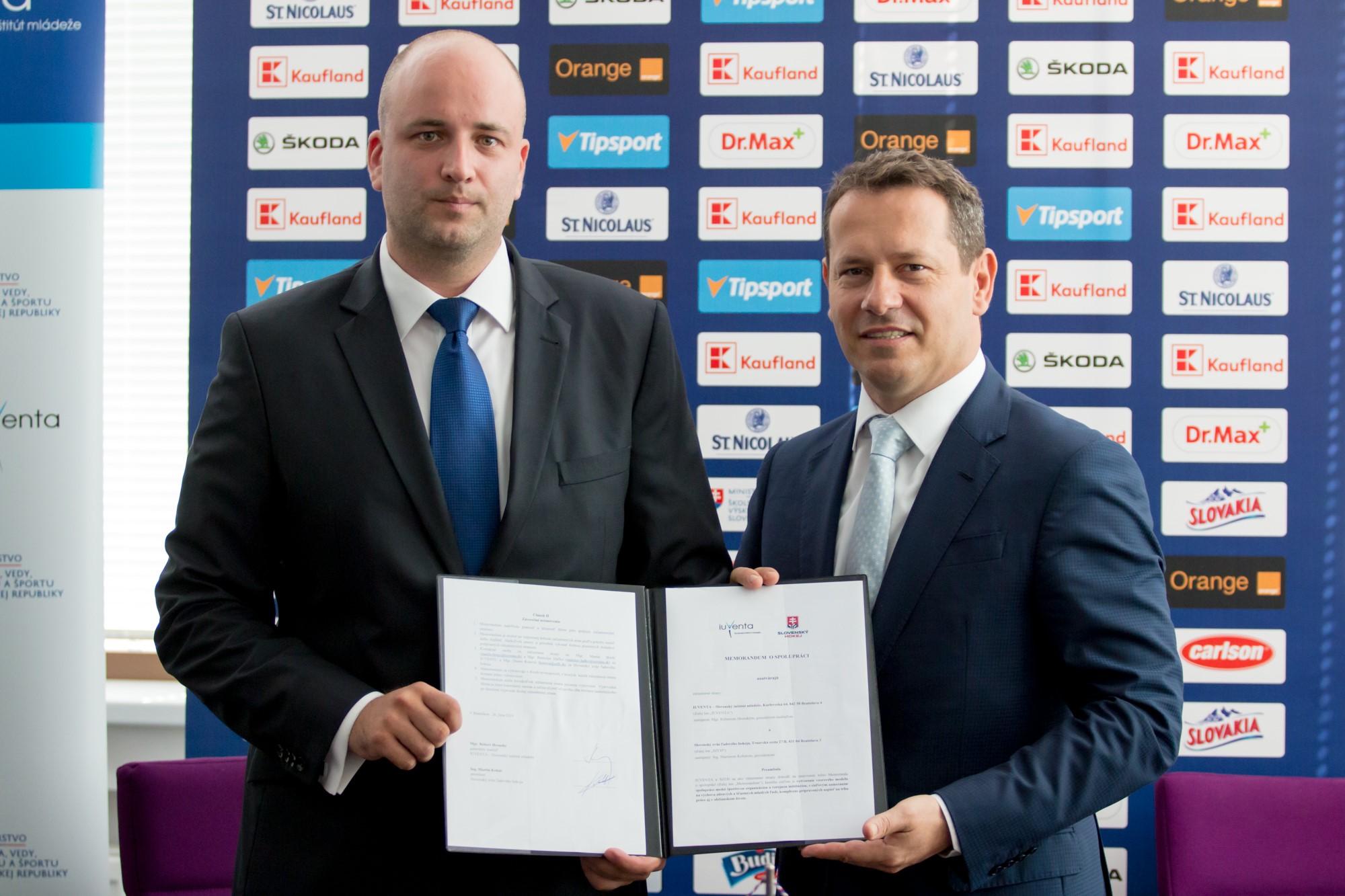 SZĽH a IUVENTA podpísali spoločné memorandum