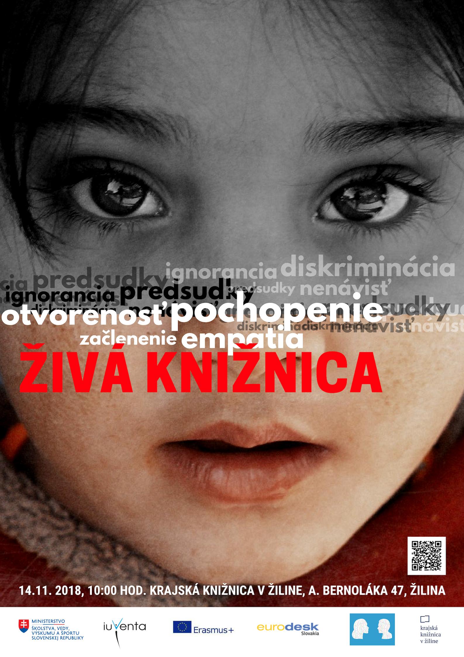 ŽIVÁ KNIŽNICA - Búranie predsudkov a stereotypov Žilina