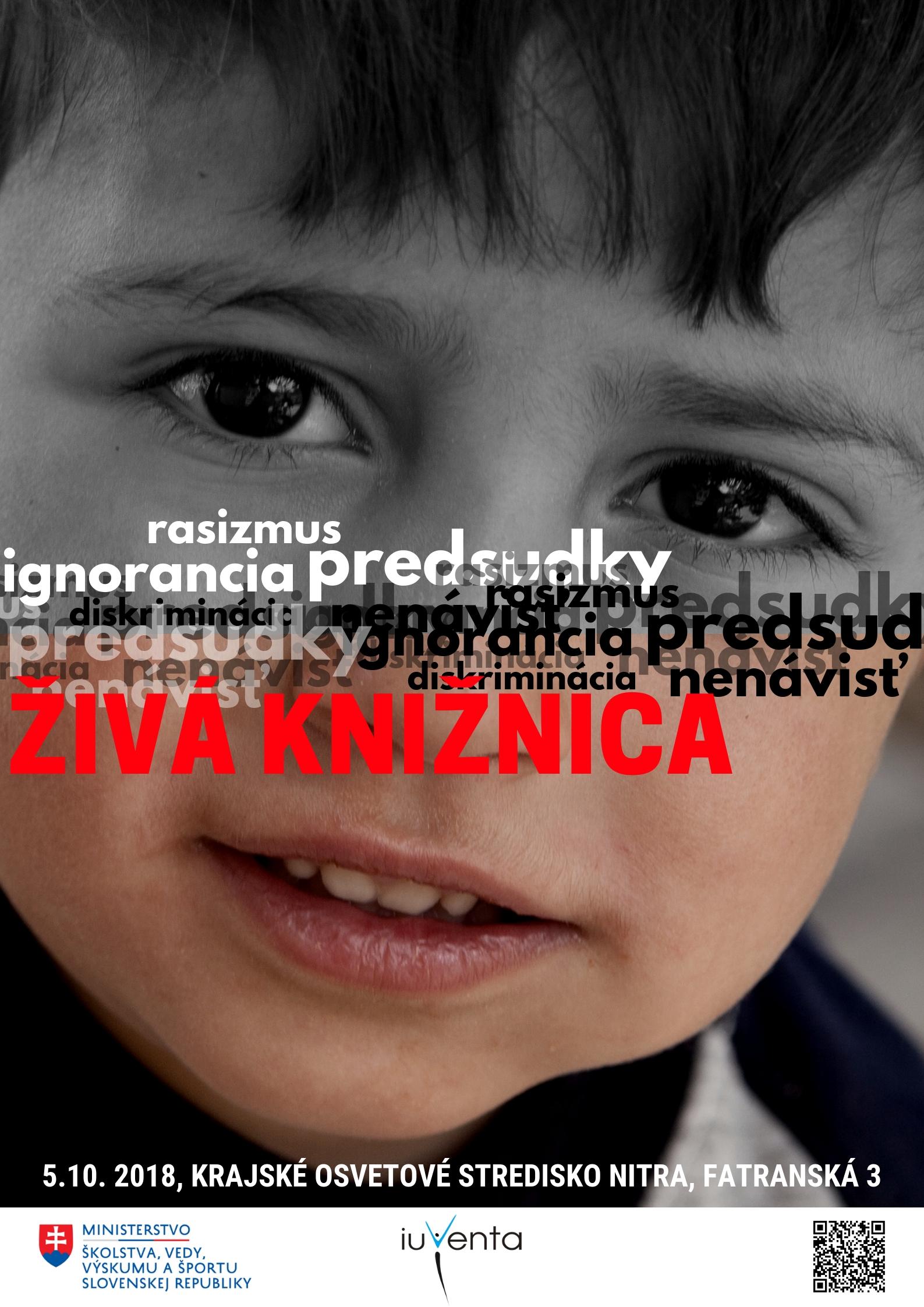 ŽIVÁ KNIŽNICA - Búranie predsudkov a stereotypov Nitra