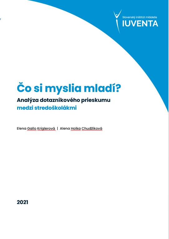 Predná strana publikácie